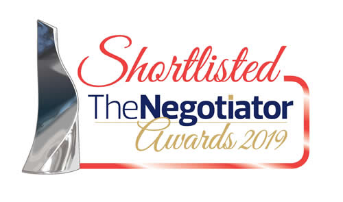 Negotiator Awards 2019 - Shortlisted
